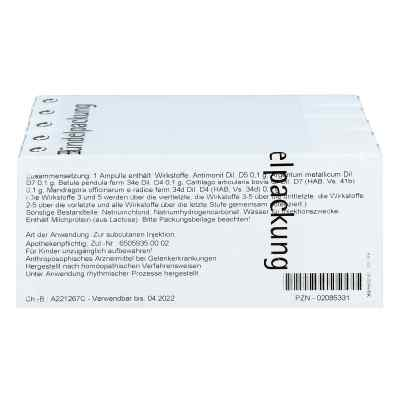 Cartilago/mandragora compositus Ampullen  bei juvalis.de bestellen
