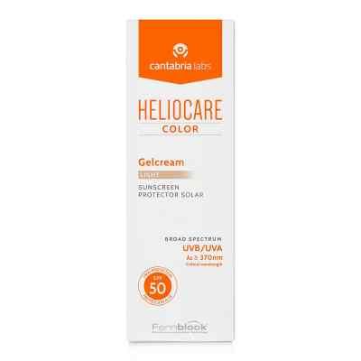 Heliocare Color Gelcream light Spf50  bei juvalis.de bestellen