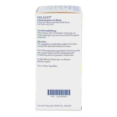 Gelacet Gelatinekapseln mit Biotin  bei juvalis.de bestellen