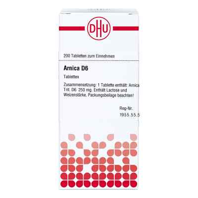 Arnica D6 Tabletten  bei juvalis.de bestellen