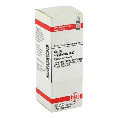 Carbo Vegetabilis D30 Dilution  bei juvalis.de bestellen