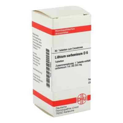 Lithium Carb. D6 Tabletten  bei juvalis.de bestellen