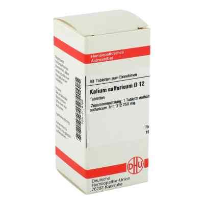 Kalium Sulfuricum D12 Tabletten  bei juvalis.de bestellen