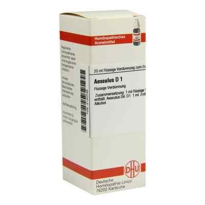 Aesculus D1 Dilution  bei juvalis.de bestellen