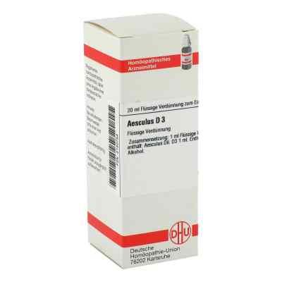 Aesculus D3 Dilution  bei juvalis.de bestellen