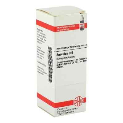 Aesculus D6 Dilution  bei juvalis.de bestellen