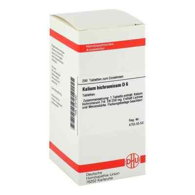 Kalium Bichromicum D6 Tabletten  bei juvalis.de bestellen