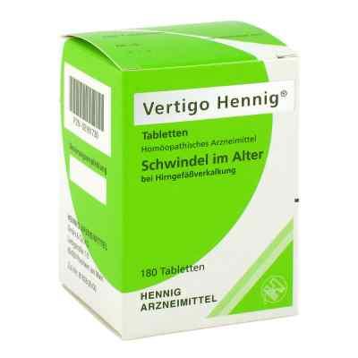 Vertigo Hennig Tabletten  bei juvalis.de bestellen