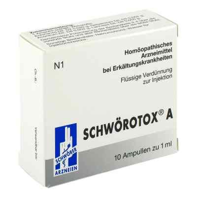 Schwörotox A Ampullen  bei juvalis.de bestellen