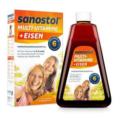 Sanostol plus Eisen Saft  bei juvalis.de bestellen