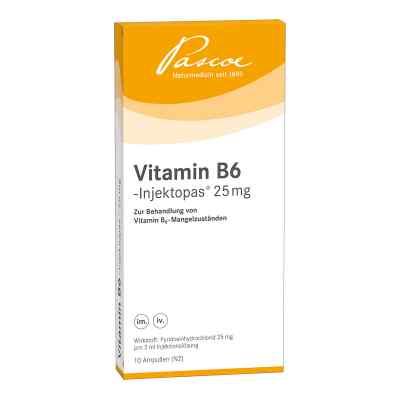 Vitamin B6 Injektopas 25 mg Injektionslösung  bei juvalis.de bestellen