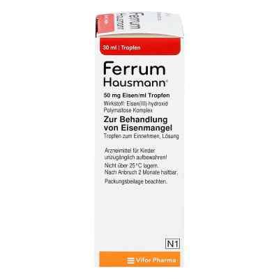 Ferrum Hausmann 50mg Eisen/ml Lösung  bei juvalis.de bestellen