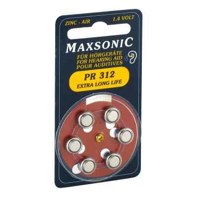 Batterien für Hörgeräte Maxsonic Pr312  bei juvalis.de bestellen