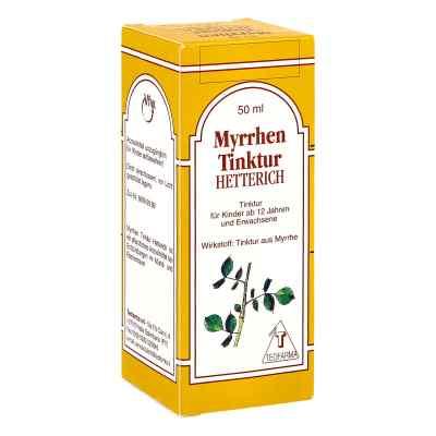 Myrrhentinktur Hetterich  bei juvalis.de bestellen