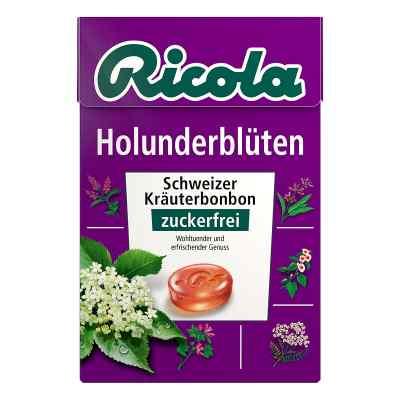 Ricola ohne Zucker Box Holunderblüten Bonbons  bei juvalis.de bestellen