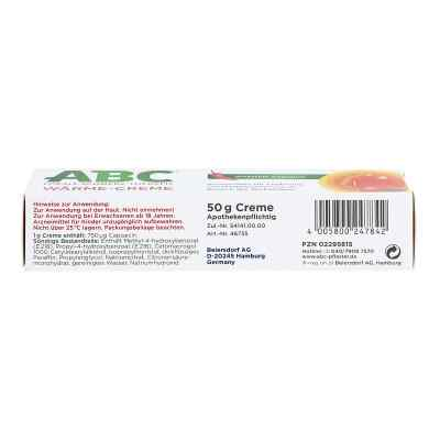 ABC Wärme-Creme Capsicum 0,75mg/g Hansaplast med  bei juvalis.de bestellen