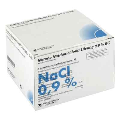 Isotone Nacl Lösung 0,9% Bc Plastik  iniecto -lösung  bei juvalis.de bestellen