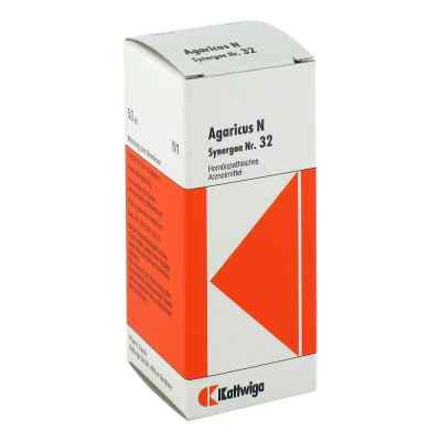 Synergon 32 Agaricus N Tropfen  bei juvalis.de bestellen