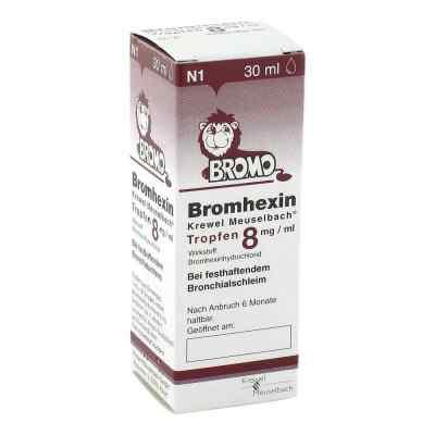 Bromhexin Krewel Meuselbach 8mg/ml  bei juvalis.de bestellen