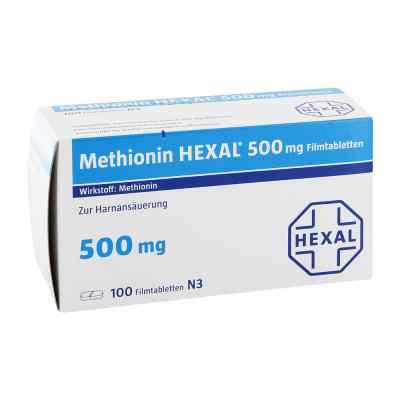 Methionin Hexal 500 mg Filmtabletten  bei juvalis.de bestellen
