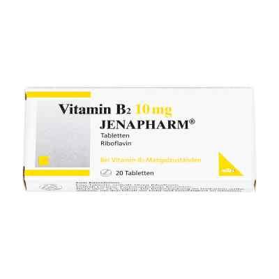 Vitamin B2 10 mg Jenapharm Tabletten  bei juvalis.de bestellen