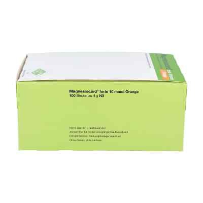 Magnesiocard forte 10 mmol Orange Pulver  bei juvalis.de bestellen