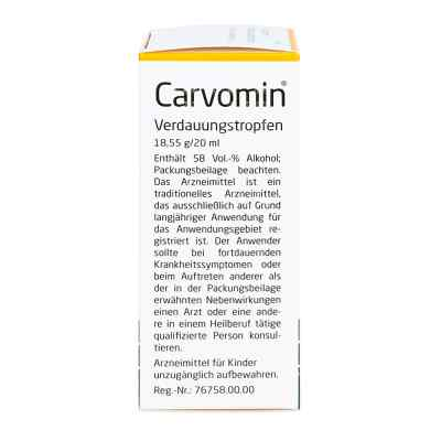 Carvomin Verdauungstropfen  bei juvalis.de bestellen