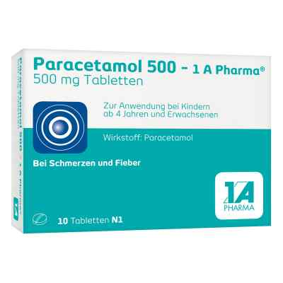 Paracetamol 500-1A Pharma  bei juvalis.de bestellen