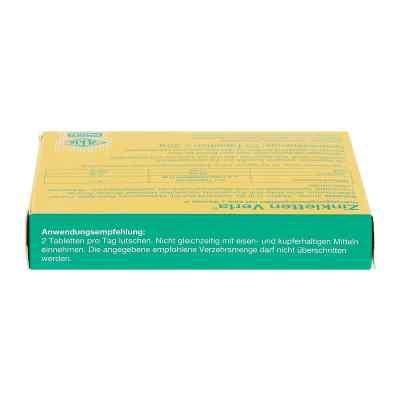 Zink Verla 5 mg Lutschtabletten Himbeere  bei juvalis.de bestellen