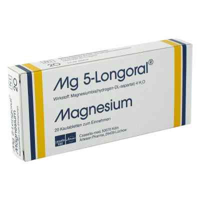 Mg 5 Longoral Kautabletten  bei juvalis.de bestellen