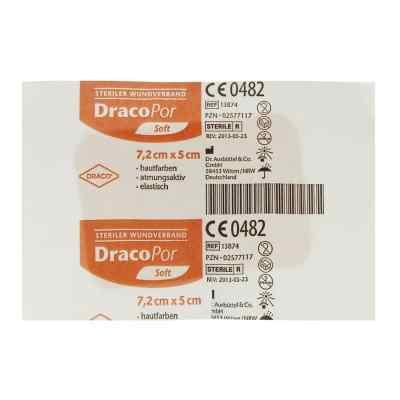 Dracopor Wundverband 7,2x5cm steril hautfarben  bei juvalis.de bestellen