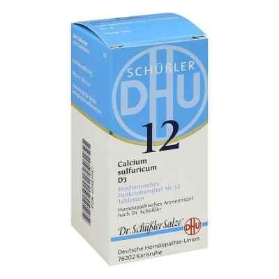 Biochemie Dhu 12 Calcium Sulfur D3 Tabletten  bei juvalis.de bestellen