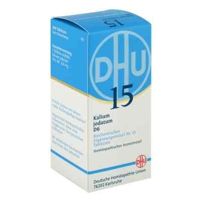 Biochemie Dhu 15 Kalium jodatum D6 Tabletten  bei juvalis.de bestellen