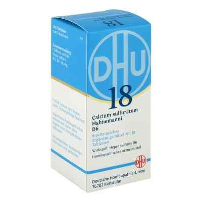 Biochemie Dhu 18 Calcium sulfuratum D6 Tabletten  bei juvalis.de bestellen