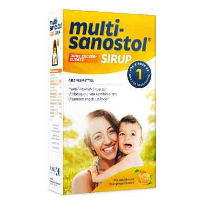 Multi Sanostol Sirup ohne Zuckerzusatz  bei juvalis.de bestellen