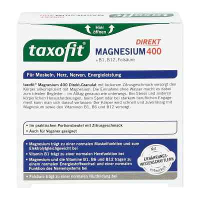 Taxofit Magnesium 400+b1+b6+b12+folsäure 800 Granulat  bei juvalis.de bestellen