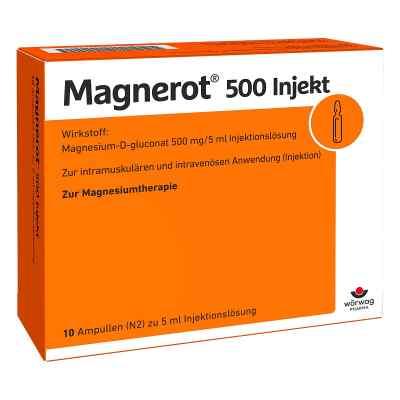 Magnerot 500 Injekt Ampullen  bei juvalis.de bestellen