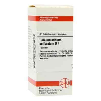 Calcium Stibiato Sulfuratum D4 Tabletten  bei juvalis.de bestellen