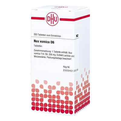 Nux Vomica D6 Tabletten  bei juvalis.de bestellen
