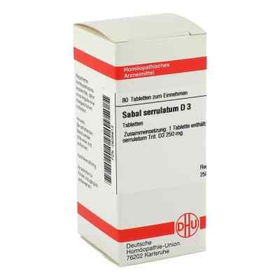 Sabal Serrul. D3 Tabletten  bei juvalis.de bestellen