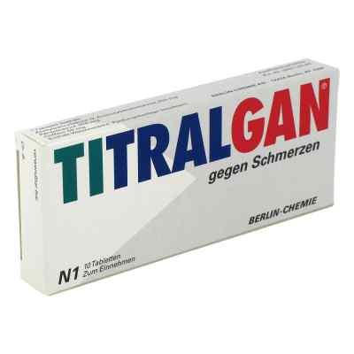TITRALGAN gegen Schmerzen  bei juvalis.de bestellen