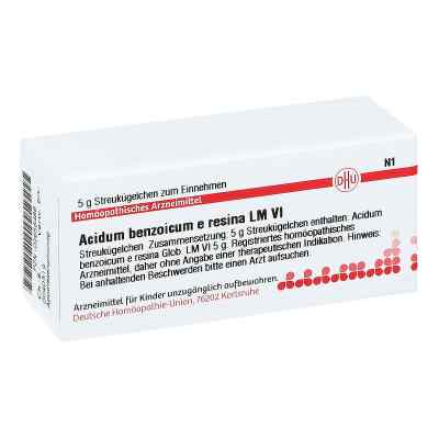 Lm Acidum Benzoicum E Res. Vi Globuli  bei juvalis.de bestellen