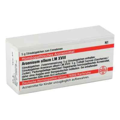 Lm Arsenicum Album Xviii Globuli  bei juvalis.de bestellen