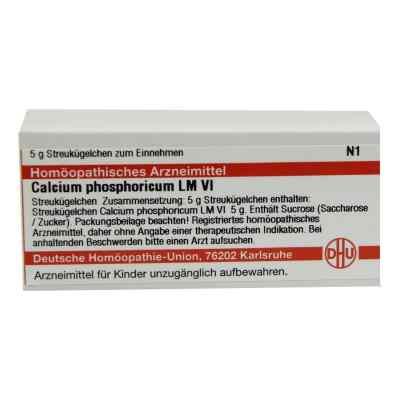 Lm Calcium Phosphoricum Vi Globuli  bei juvalis.de bestellen
