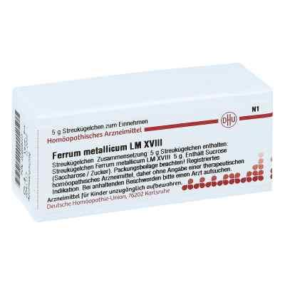 Lm Ferrum Metallicum Xviii Globuli  bei juvalis.de bestellen