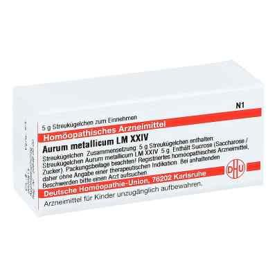 Lm Aurum Metallicum Xxiv Globuli  bei juvalis.de bestellen