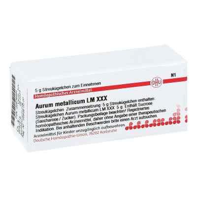 Lm Aurum Metallicum Xxx Globuli  bei juvalis.de bestellen