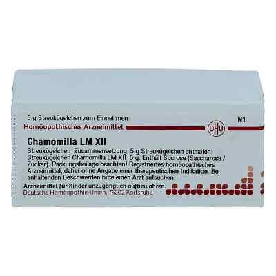 Lm Chamomilla Xii Globuli  bei juvalis.de bestellen