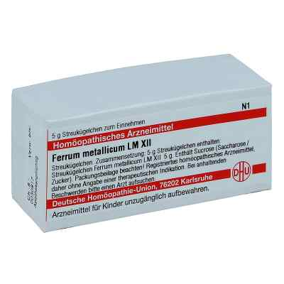 Lm Ferrum Metallicum Xii Globuli  bei juvalis.de bestellen