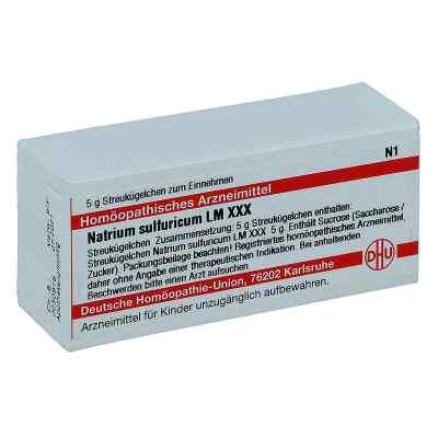 Lm Natrium Sulfuricum Xxx Globuli  bei juvalis.de bestellen
